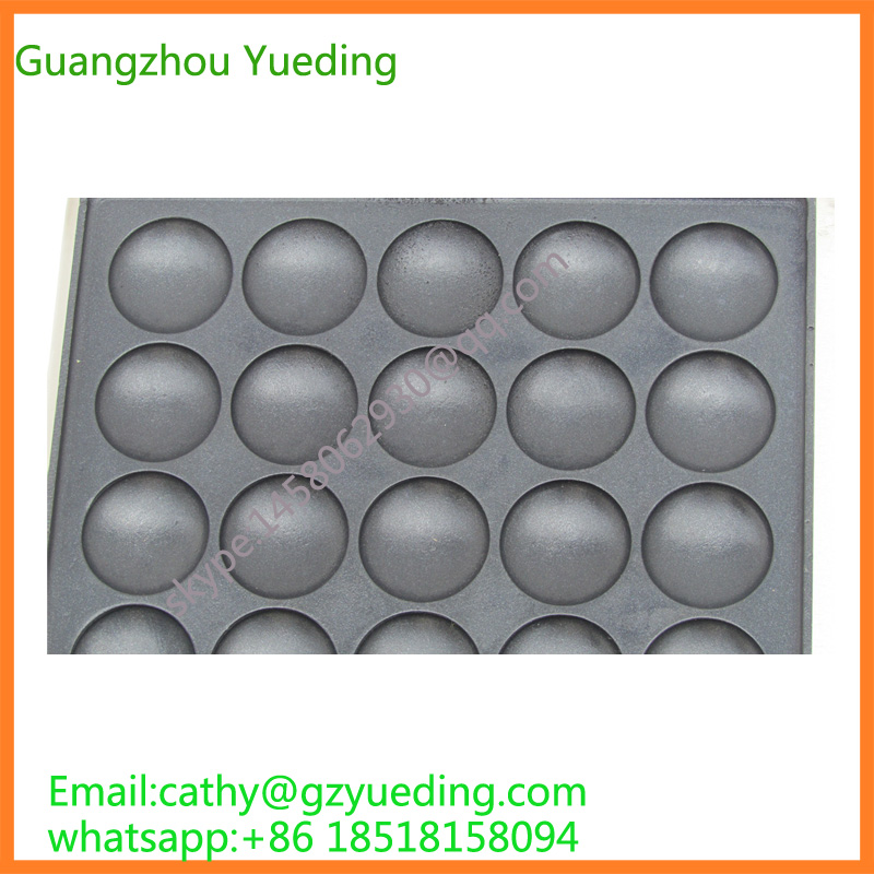Stainless steel high quality poffertjes grill maker,poffertjes grill plate,muffins cake baking machine