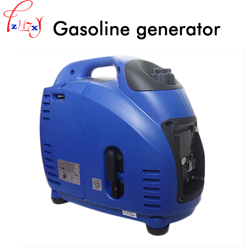 Small digital variable frequency generator portable portable gasoline generator digital generator 220V 1500W 1PC