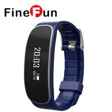 Finefun Водонепроницаемый H29 Bluetooth Smart Браслет монитор сердечного ритма фитнес-трекер Smart Браслет для IOS Android