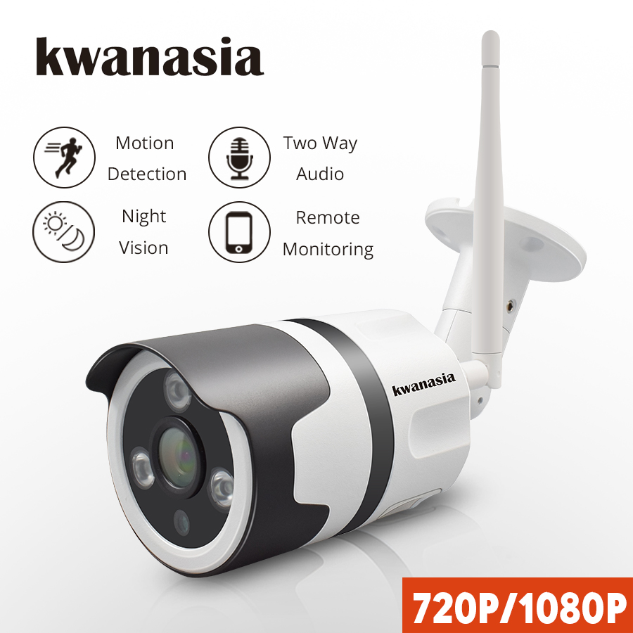 1080P IP Camera Wi Fi Outdoor Wireless WiFi Waterproof IP Camera 720P CCTV Security Surveillance Two
