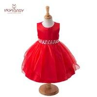 MUABABY 2 13T Big Girls Princess Party Dress Sleeveless Diamond Kids Summer Sundress Children Girl Pageant