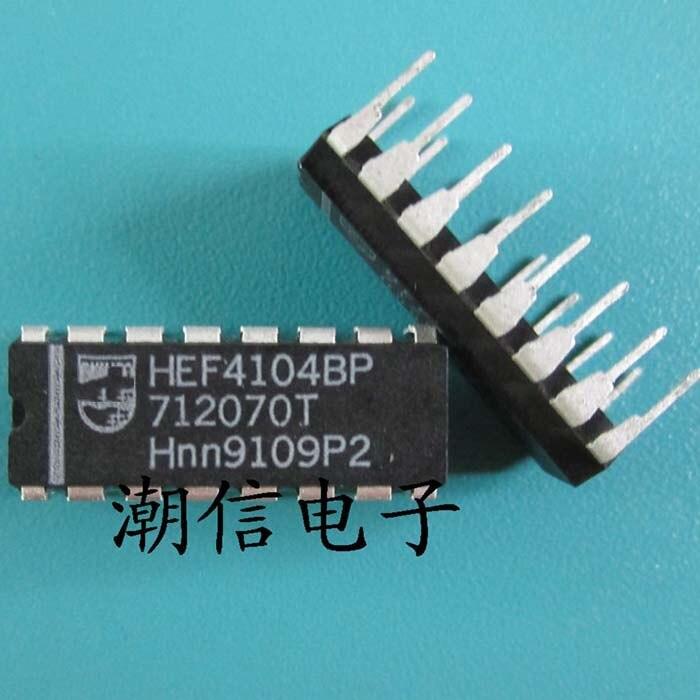 o envio gratuito de new 100 nova 100 hef4104bp dip 16