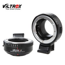 מצלמה צמצם טבעת מתאם w/חצובה הר עבור ניקון F AF S AI G עדשה למייקרו M4/3 מצלמה אולימפוס Panosonic G6 GX7 BMPCC E M5