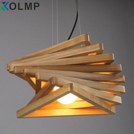 Kreatywne Projektowanie Spiral Burlywood Drewna Wisiorek