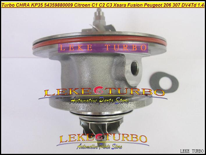 Turbo chra cartridge Core KP35 54359700009 for Peugeot 1007 107 206 207 307 for Mazda 2 1.4TDCi 1.4MZ-DC 1.4L 1.4HDi DV4TD 68HP peugeot 307 1 6 hdi