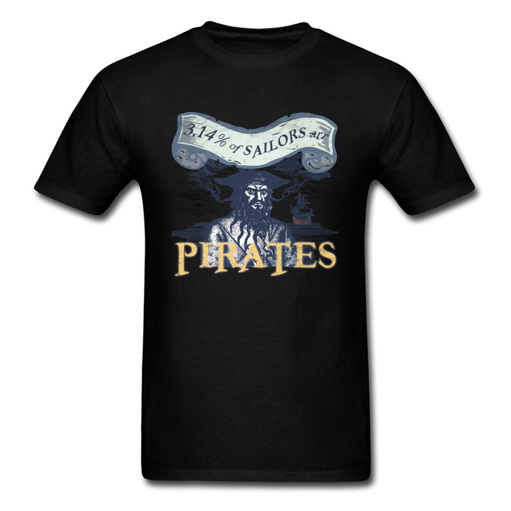 Classic Tee Shirts Pi Day Pirates Math Pun Mens Tshirt Retro Mens Famous Brand Casual T-Shirt Spring Summer Tops Tees