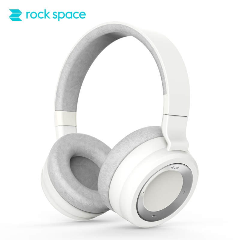 ROCKSPACE S7 casque Bluetooth pliable sans fil avec Microphone HiFi stéréo basse profonde sur l'oreille suppression de bruit pour téléphone