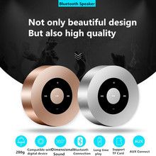 Portable Bluetooth Speaker Wireless Music Player with Touch Screen and Mic, High-fidelity Sound, Long standby ,Support TF Card