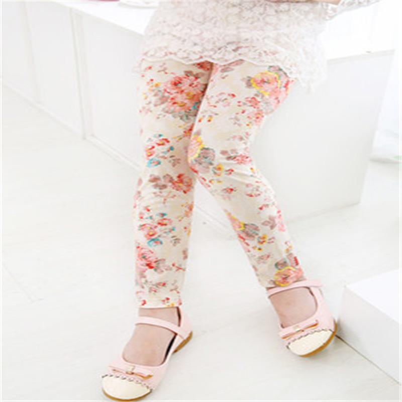 New Style Spring Autumn Children Leggings Flower Butterfly girls pants kids legging 19