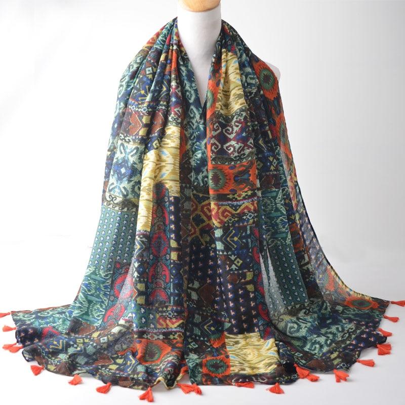 Fashion 2016,cotton scarf,floral hijab,geometry print scarf,Muslim  hijab,shawls
