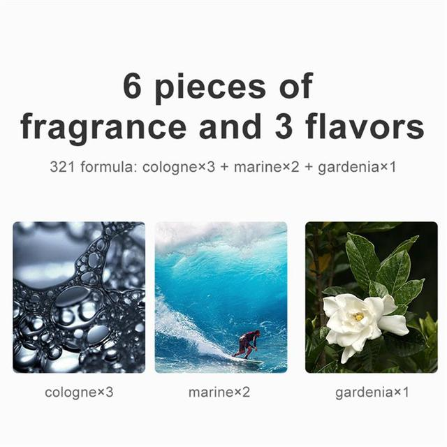 Baseus Car Air Freshener Perfume Fragrance for Auto Car Air Vent Freshener Air Conditioner Clip Diffuser Solid Perfume 4