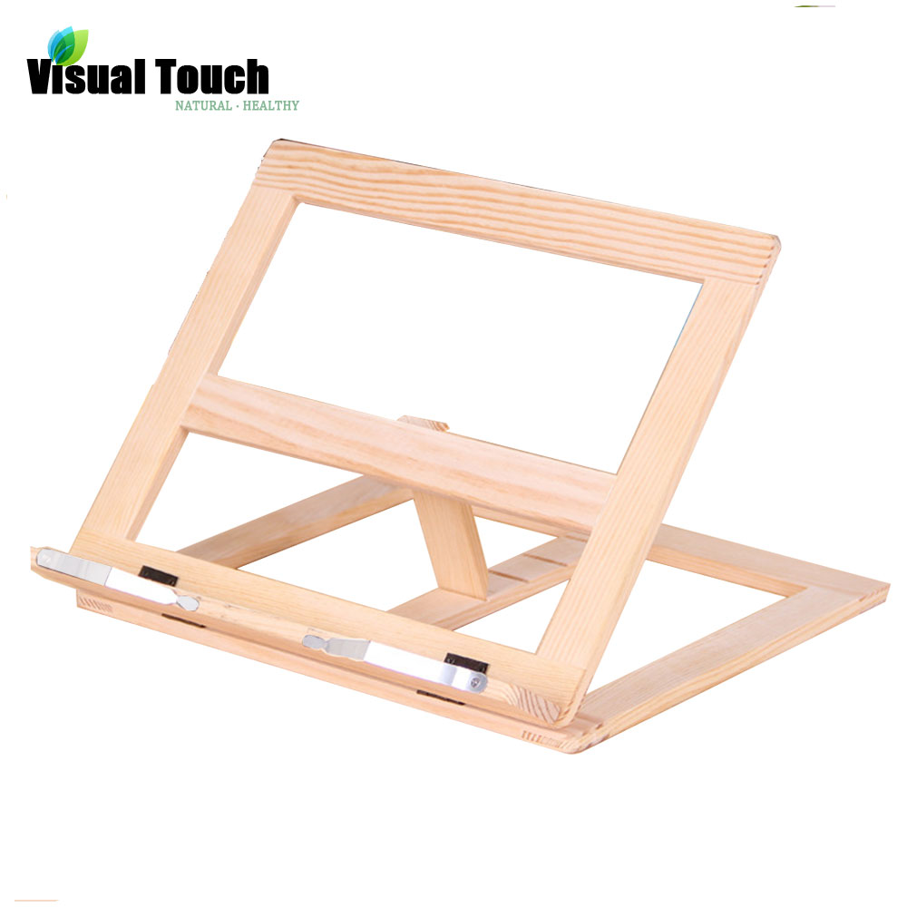 foldable wood book stand ipad holder kitchen rack cookbook holders