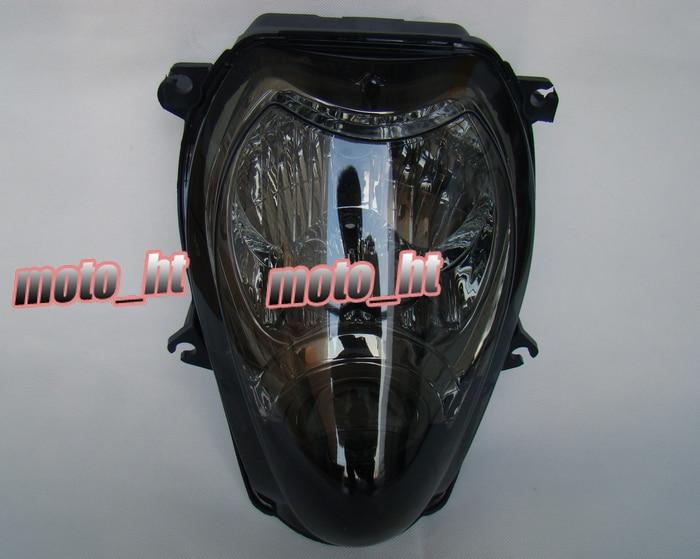 Black Headlight Headlamp For Suzuki Hayabusa 1300 GSX1300R 1999 2000 2001 2002 2003 2004 2005 2006 2007 Front Head light Lamp for suzuki hayabusa gsx1300r 1999 2007 motorcycle front