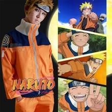 Hot New Anime Uzumaki Naruto Cosplay Costumes Men Women Children Clothing High Quality Suit Support Customization
