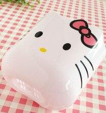 Lovely Plastic Hello Kitty Themed Toothbrush Holder