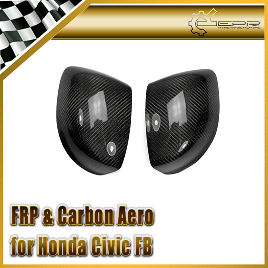 Car-styling For Honda Civic FB 2012 (4 Door) Carbon Fiber Side Mirror Cover (No Indicator) no 14 925 diy fb 4