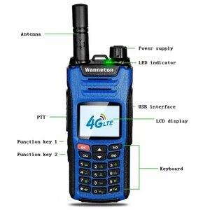 Image 5 - 2019 nowy telefon na kartę sim BAOFENG Walkie Talkie 8W 50KM GPS GSM WCDMA 4G LTE CB Ham stacja radiowa HF Transceiver Woki Toki