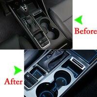 Para Hyundai Tucson 2016-2017 20 Pcs Car Interior Porta Mat Pad Copa Mats Anti Slip Non-slip titular Azul Branco Vermelho (Fulgor Da Noite)