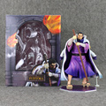 22cm One Piece POP World Government Fujitora Issho Model Collectible Anime Action Toy Figures PVC Kids Toys
