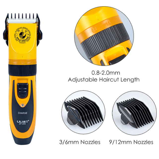 Hot Selling 35W Electric Scissors Professional Pet Hair Trimmer Animals Grooming Clippers Dog Hair Trimmer Cutters 110-240V AC 3