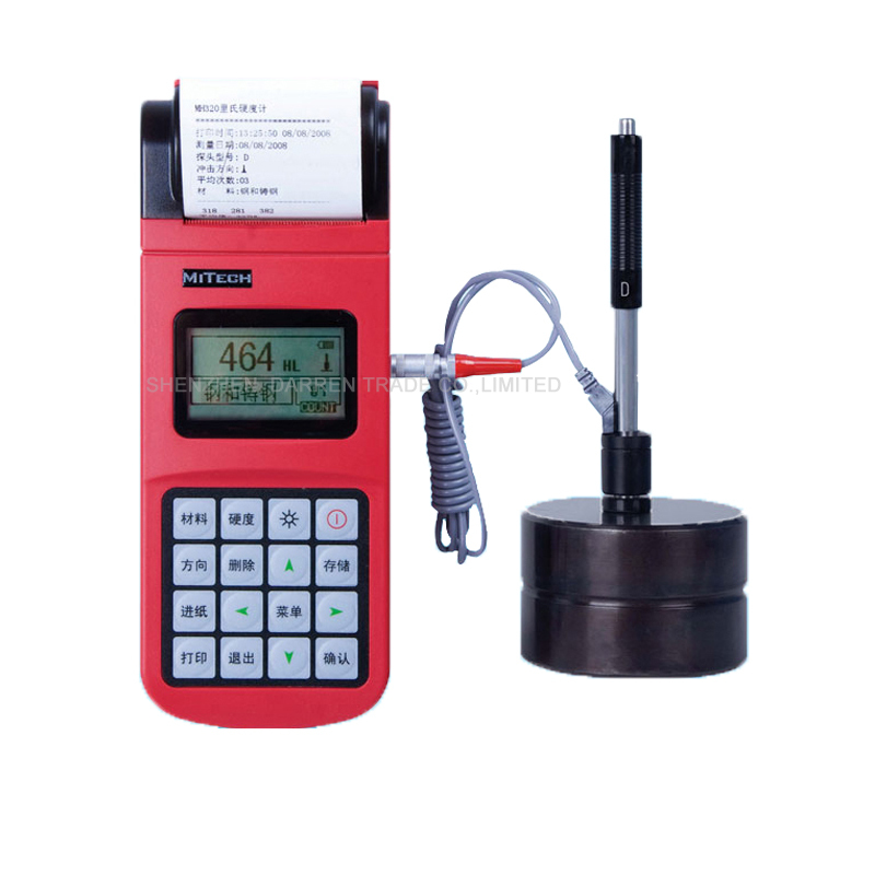 High Quality 1pc MH320 Leeb Tester of the gauge Hardness tester  Metal durometer hardness tester with English manual|tester| |  - title=