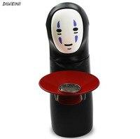 1Pcs/set Cute Miyazaki Spirited No Face Men Coin Bank Piggy Automatic Eaten Coin Bank Money Saving Box Money Box Figure Toys