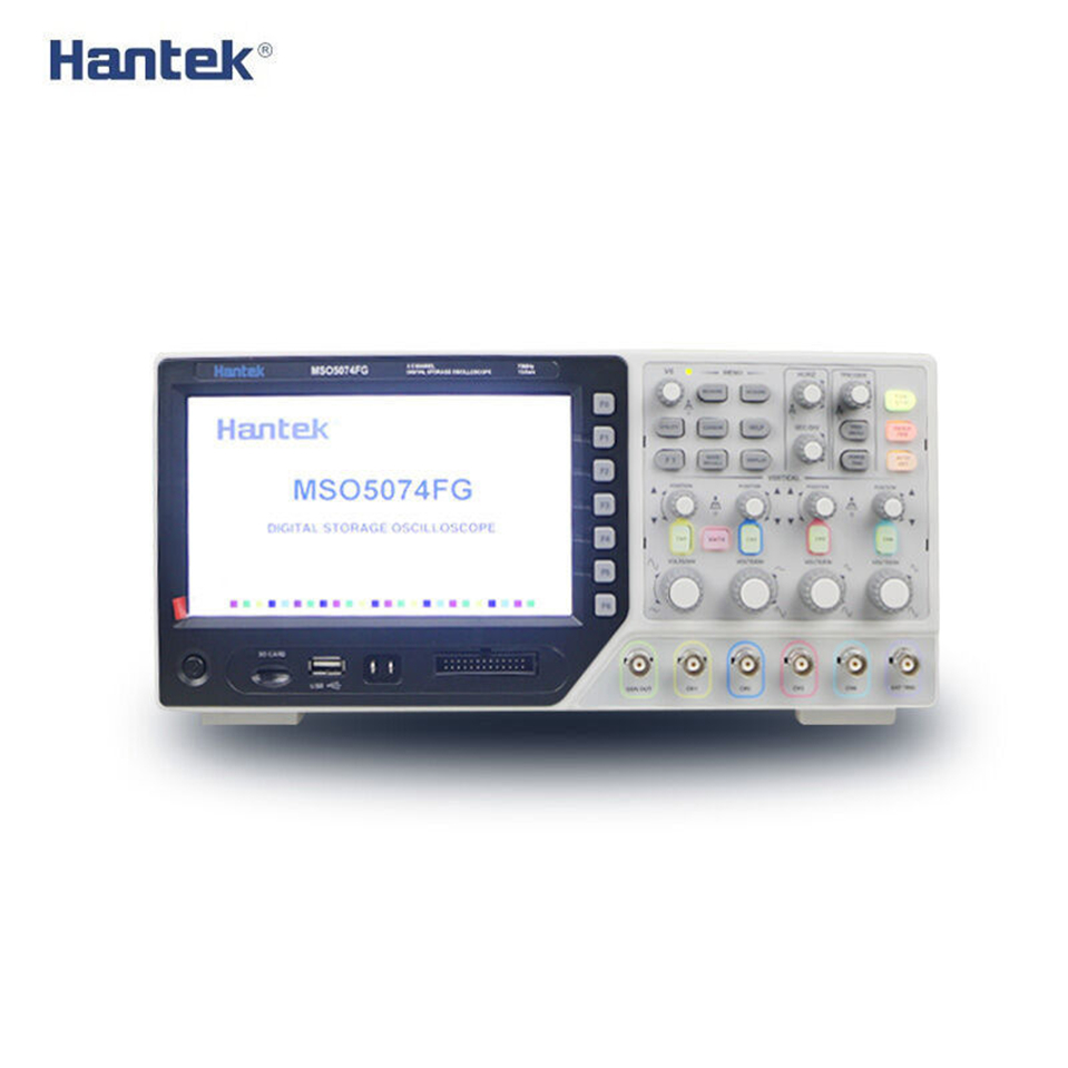 NEWEST Hantek Oscilloscope Hantek MSO5074F MSO5074FG 4CH 8CH Logic Analyzer 70MHz 1GSa s Sample Rate DHL