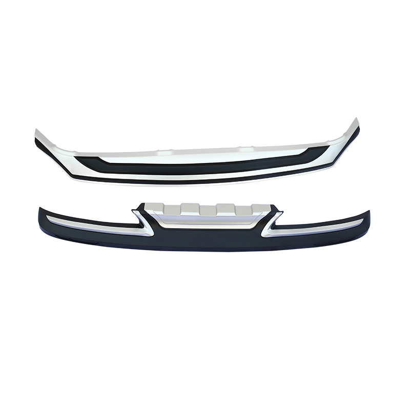 Fit For <font><b>Lexus</b></font> <font><b>NX200</b></font> NX300H NX200T 2015-2018 Front + Rear Bumper Diffuser Bumpers Lip Protector Guard skid plate Stainless steel image