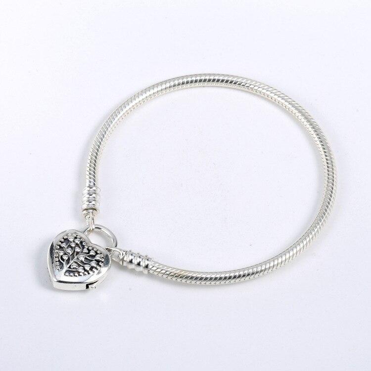 2018 fête des mères 925 bijoux en argent Sterling édition limitée Bracelet coeur Bracelet Original convient pour les femmes fabrication de bijoux