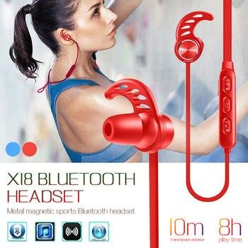 Premium Portable Neckband Headset Bluetooth Earphones Business Tablets Wireless Bluetooth Headphones Bluetooth 4.1 Ear Hook