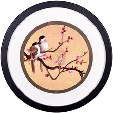 Soft Framed Suzhou 1-4 sil  embroidery beautiful lotus pure handmade decorative painting