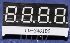 Free Shipping 10PCS LD 3461BS 4 Digit 0 36 RED 7 SEGMENT LED DISPLAY COMMON ANODE