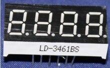 Бесплатная доставка 10 шт. LD-3461BS 4 цифры 0.36 » RED 7 сегментный из светодиодов дисплей общим анодом
