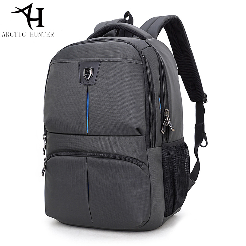 ARCTIC HUNTER Backpacks Men women Travel Bag Waterproof High Quality nylon laptop Backpack Multifunction drop shipping wholesal 2017 hot sale men 50l military army bag men backpack high quality waterproof nylon laptop backpacks camouflage bags freeshipping