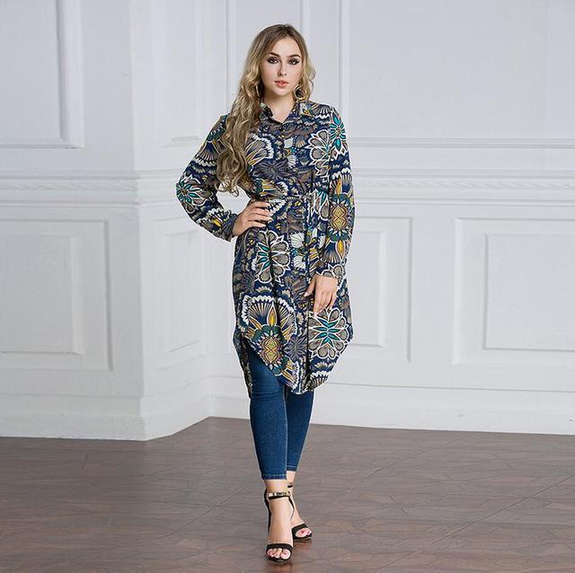 Mujeres Musulmanas Camisa larga abaya más tamaño 7xl jilbab túnica ...
