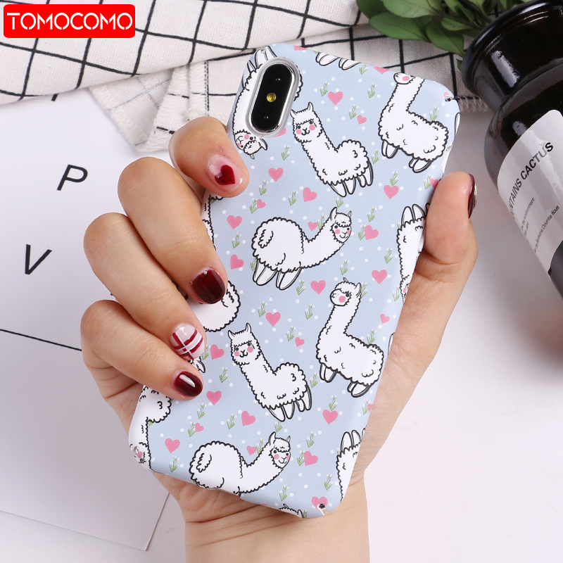 Cute Lama Alpaca Phone Case 1
