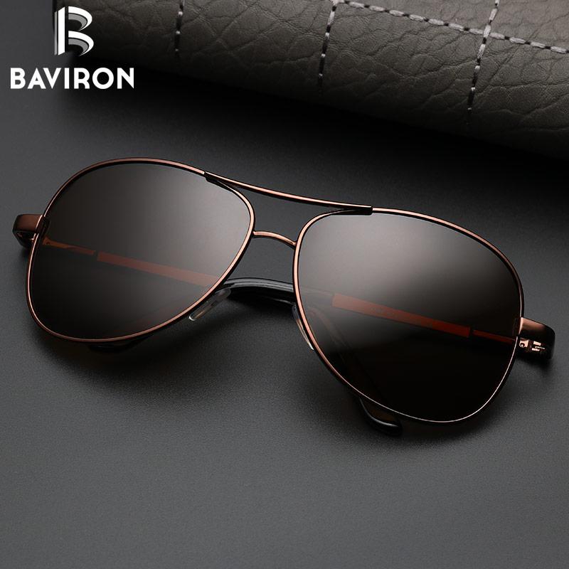 BAVIRON Aviator Sunglasses Men Polarized Sunglasses Mujeres Piloto - Accesorios para la ropa - foto 2