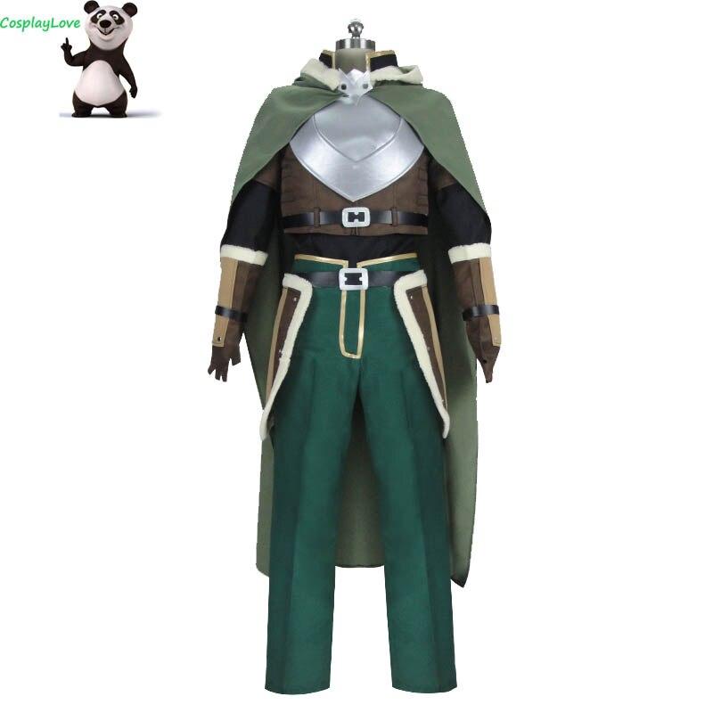 CosplayLove The Rising of the Shield Hero Iwatani Naofumi Cosplay Costume Custom Made For Christmas Halloween