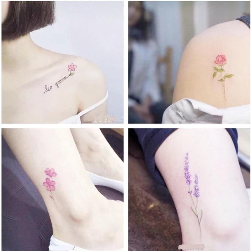 Krasivyy Temporal Tatuajes Pegatinas Flash Tatuaje Dibujos Animados