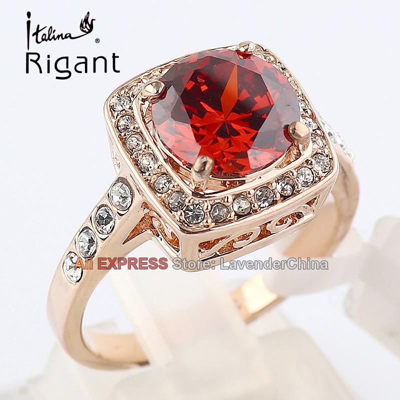 А1-r190 италина rigant имитация дракона обручение камней модные кольца CZ с гр rustle 18kgp ювелирные изделия размеры 5.5-9