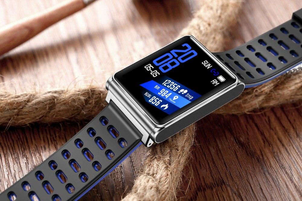 Smart Watch Bracelet N98 Color Full Screen Waterproof Fitness Tracker Clock Wristband Heart Rate Monitor Pressure For Xiaomi IOS 24