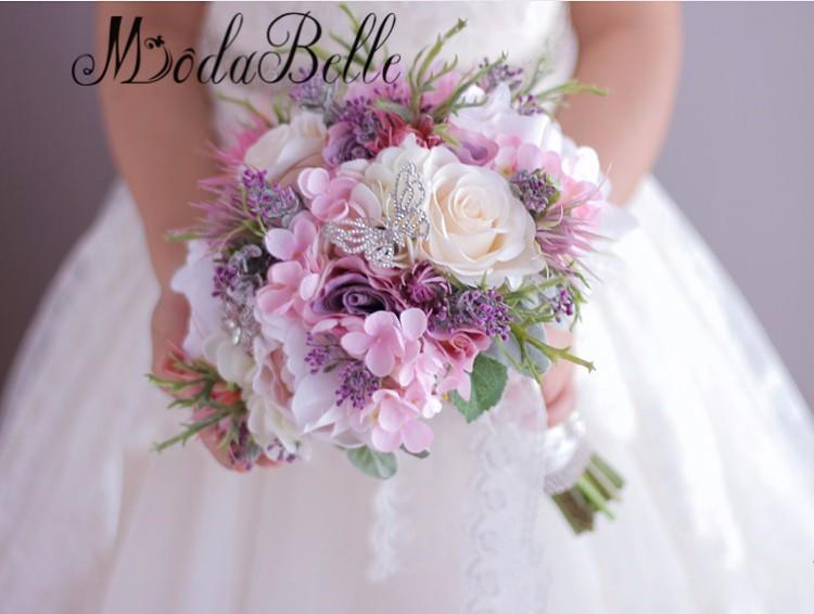 New-Beautiful-Purple-Pink-Wedding-Bouquet-All-Handmade-Bridal-Flower-Artificial-Hydrangea-Peony-Rose-butterfly-Brooch (2)_conew1_