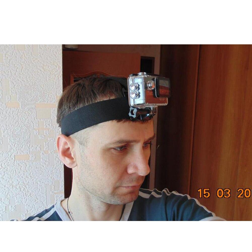 DISPARO Casco ajustable Arnés Correa para la cabeza para GoPro Hero - Cámara y foto - foto 6