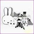 Новый Стиль Очень Симпатичный Кролик Подушку домой Украшение Помещения Ребенка Успокоить Куклы день рождения Рождественский Подарок