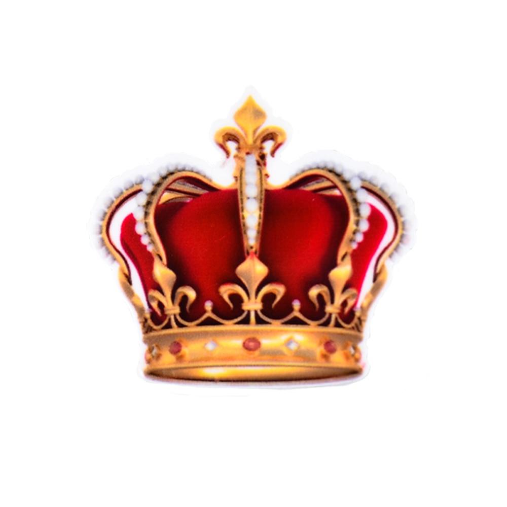 Decoden Cartoon King Queen Crown Pattern Planar Resin ...