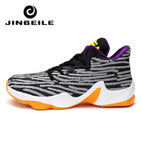 Plus Size 45 Men Basketball Shoes Breathable Lace up Outdoor Shockproof Sport Shoes CURRY Ankle Boots Sneakers Zapatilla Hombre