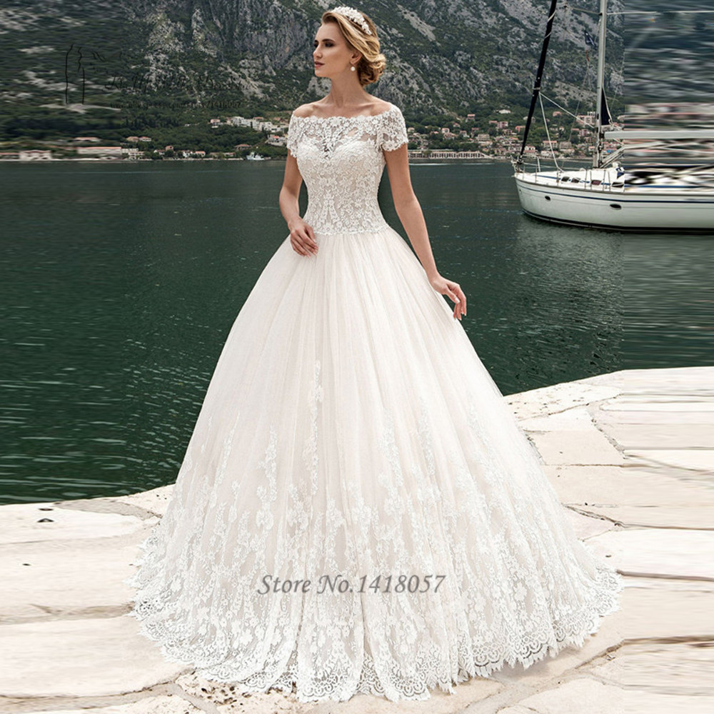 6. Short Sleeve Wedding Dresses picture
