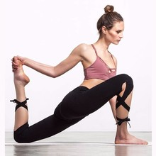 Outdoors Gym Run Yoga Pants Close Around The Foot Bind Foot Leisure Time Athletic Wear Woman Wish