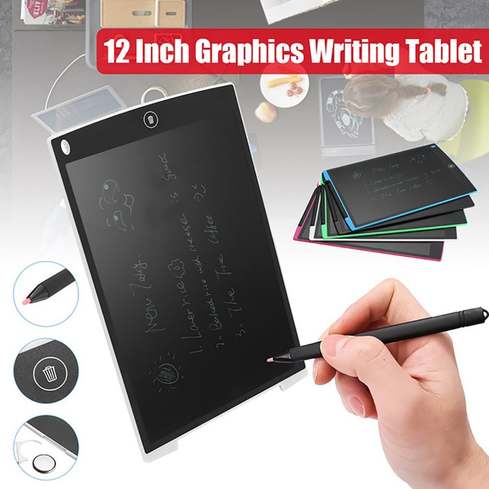 12 inch Drawing Tablet Digital LCD Writing Graffiti Board Electronic Handwriting Light Box Digital Tablets with Stylus Pen image