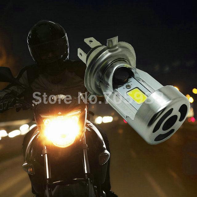 100% ORIGINAL DO CARRO H4 Faróis motocicleta oi lo 20 W 2000LM Auto lâmpada LED Lâmpada 12 V Fonte de Luz Virar Chip de 6000 K/3000 K